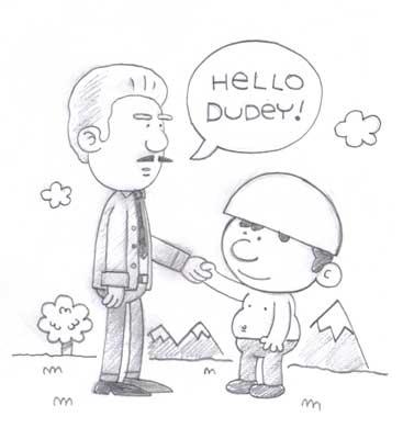 Dudey Meets Treebeck