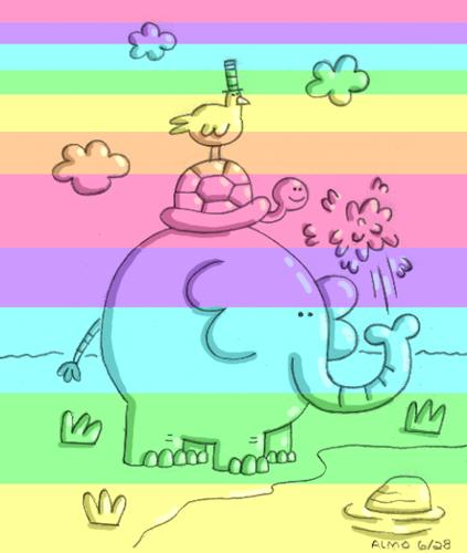 2013_06_28_rainbowelephant