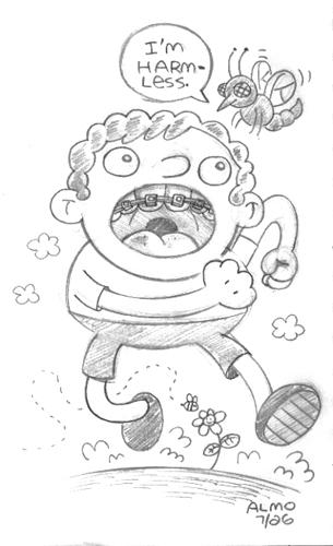 Harmless Ugly Bug!
